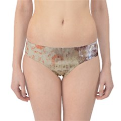 Art Collage Design Colorful Color Hipster Bikini Bottoms
