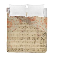 Art Collage Design Colorful Color Duvet Cover Double Side (full/ Double Size)