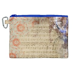 Art Collage Design Colorful Color Canvas Cosmetic Bag (xl)