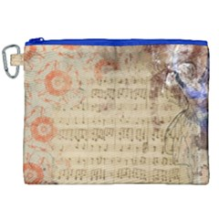 Art Collage Design Colorful Color Canvas Cosmetic Bag (xxl)