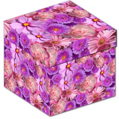 Flowers Blossom Bloom Nature Color Storage Stool 12