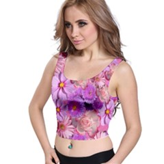 Flowers Blossom Bloom Nature Color Crop Top
