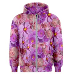 Flowers Blossom Bloom Nature Color Men s Zipper Hoodie