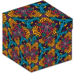 Grubby Colors Kaleidoscope Pattern Storage Stool 12