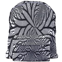 Fractal Symmetry Pattern Network Giant Full Print Backpack