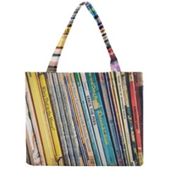 Bookcase Books Data Education Mini Tote Bag