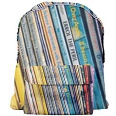 Bookcase Books Data Education Giant Full Print Backpack