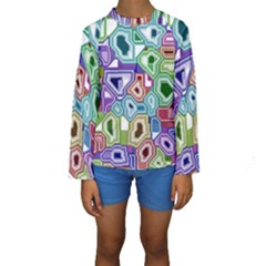 Board Interfaces Digital Global Kids  Long Sleeve Swimwear