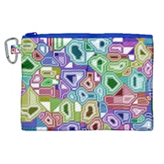 Board Interfaces Digital Global Canvas Cosmetic Bag (xl)