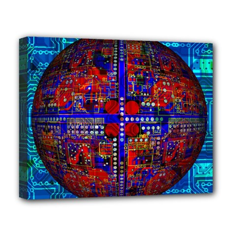 Board Interfaces Digital Global Deluxe Canvas 20  X 16