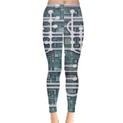 Board Circuit Control Center Leggings