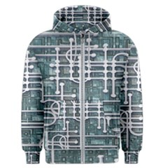 Board Circuit Control Center Men s Zipper Hoodie