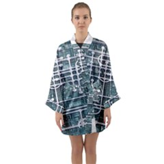 Board Circuit Control Center Long Sleeve Kimono Robe