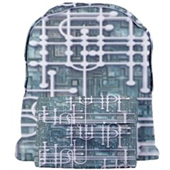 Board Circuit Control Center Giant Full Print Backpack