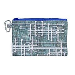 Board Circuit Control Center Canvas Cosmetic Bag (large)