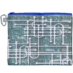 Board Circuit Control Center Canvas Cosmetic Bag (xxxl)