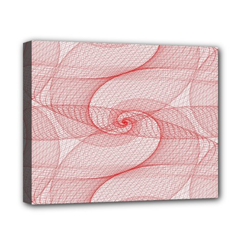 Red Pattern Abstract Background Canvas 10  X 8