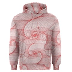 Red Pattern Abstract Background Men s Pullover Hoodie