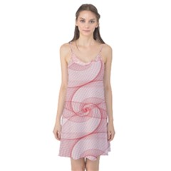 Red Pattern Abstract Background Camis Nightgown