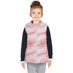 Red Pattern Abstract Background Kid s Puffer Vest