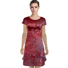 Background Texture Structure Cap Sleeve Nightdress