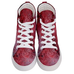Background Texture Structure Women s Hi Top Skate Sneakers