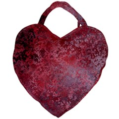 Background Texture Structure Giant Heart Shaped Tote