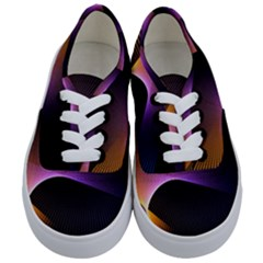 Star Graphic Rays Movement Pattern Kids  Classic Low Top Sneakers