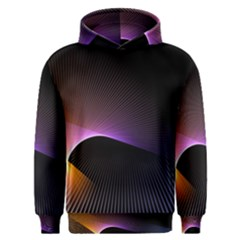 Star Graphic Rays Movement Pattern Men s Overhead Hoodie