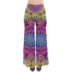Background Fractals Surreal Design Pants