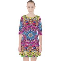 Background Fractals Surreal Design Pocket Dress