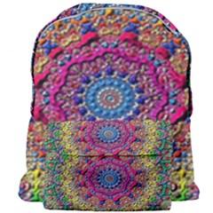 Background Fractals Surreal Design Giant Full Print Backpack