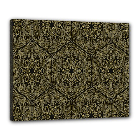 Texture Background Mandala Canvas 20  X 16