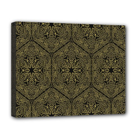 Texture Background Mandala Deluxe Canvas 20  X 16