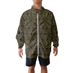 Texture Background Mandala Wind Breaker (kids)
