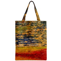 The Framework Drawing Color Texture Zipper Classic Tote Bag