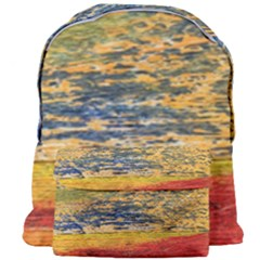 The Framework Drawing Color Texture Giant Full Print Backpack