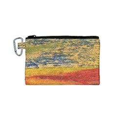 The Framework Drawing Color Texture Canvas Cosmetic Bag (small)
