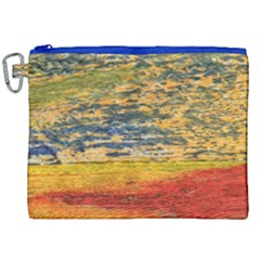 The Framework Drawing Color Texture Canvas Cosmetic Bag (xxl)