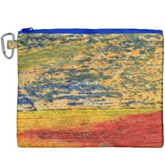 The Framework Drawing Color Texture Canvas Cosmetic Bag (xxxl)