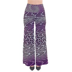 Graphic Abstract Lines Wave Art Pants