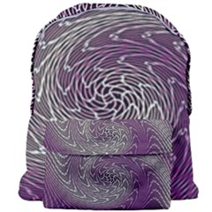 Graphic Abstract Lines Wave Art Giant Full Print Backpack