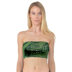 Board Computer Chip Data Processing Bandeau Top