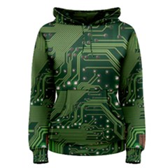 Board Computer Chip Data Processing Women s Pullover Hoodie