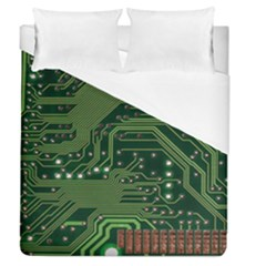 Board Computer Chip Data Processing Duvet Cover (queen Size)