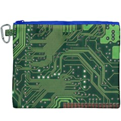Board Computer Chip Data Processing Canvas Cosmetic Bag (xxxl)