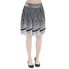 Graphic Design Background Pleated Skirt