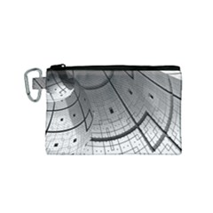 Graphic Design Background Canvas Cosmetic Bag (small)