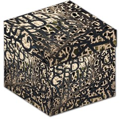 Pattern Design Texture Wallpaper Storage Stool 12