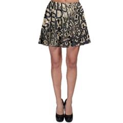 Pattern Design Texture Wallpaper Skater Skirt